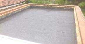 Felting complete - Rooftops